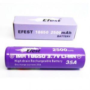 Efest-18650-35A-2500mAh-Purple-Battery