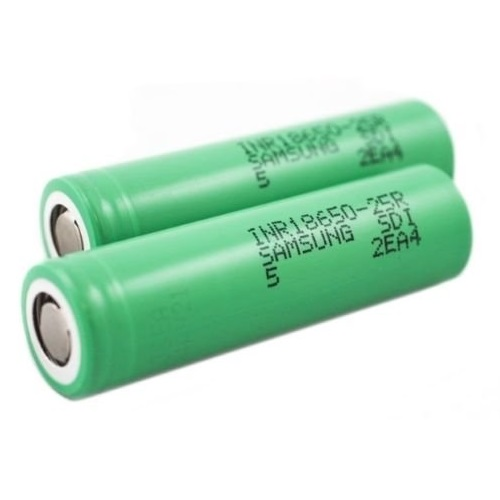 Samsung-INR18650-25R-battery-2500mAh-20a-3.6V-Rechargeable-500